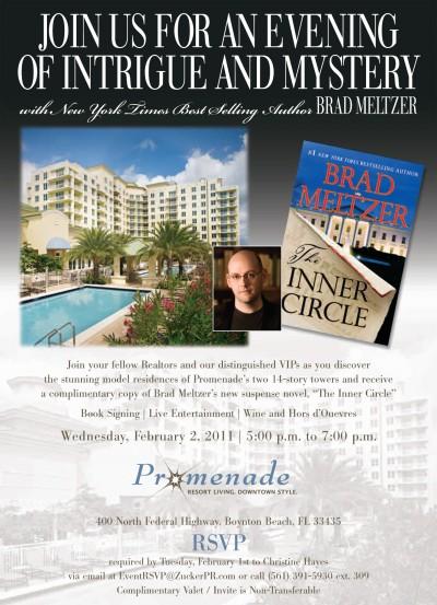 Promenade Book Signing Event