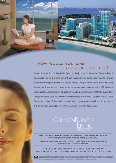 Canyon Ranch Ad