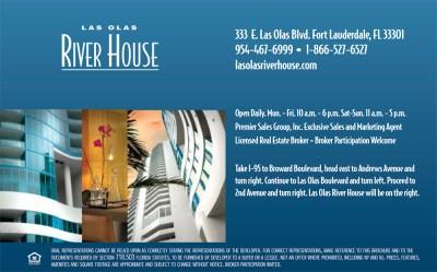 Las Olas River House Mailer