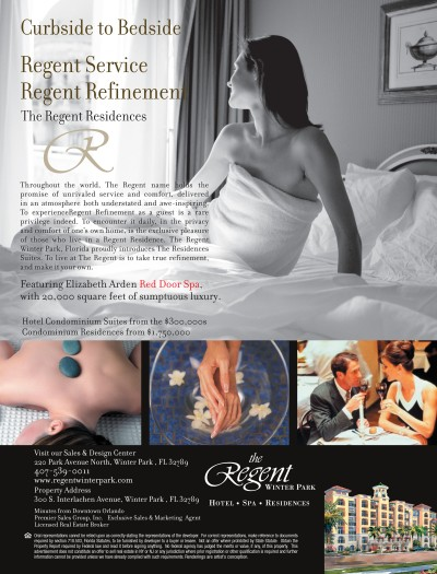 The Regent Winter Park Ad