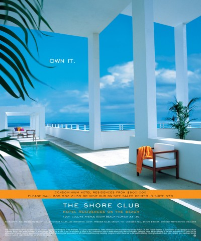 Shore Club Ad
